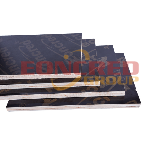 poplar core film faced plywood with high quality